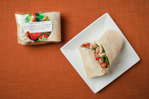 Strawberry Fields Wrap