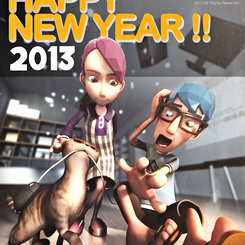 NEW YEAR 2013 !!
