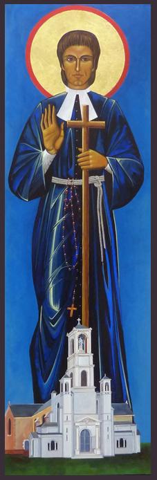 St Louis-Marie Grignon de Montfort