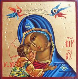 Vierge de Tendresse couronnée