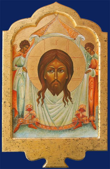 La Sainte Face aux deux anges
