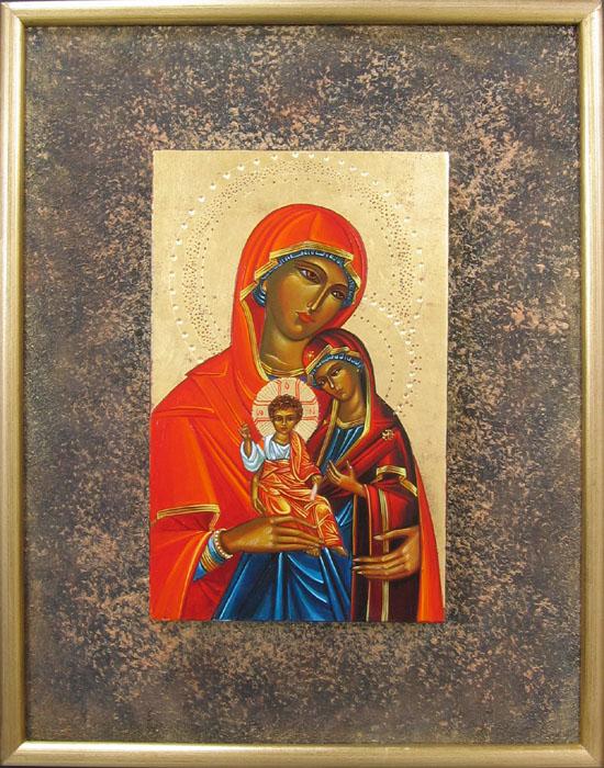 Saint Anne la Vierge et l'enfant