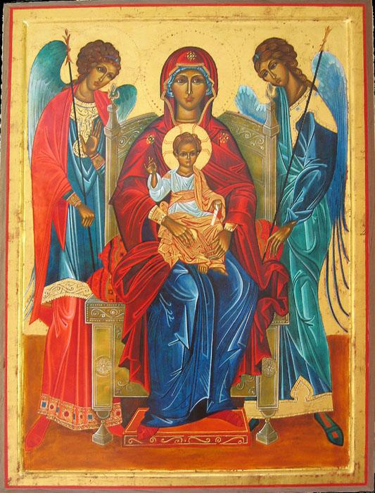 Vierge aux archanges