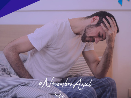 Novembro Azul: um sinal de alerta para a saúde dos homens.