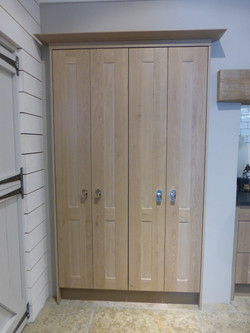 Wooden larder cupboard