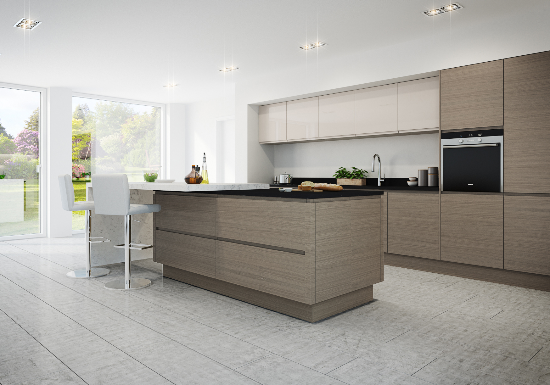 J Handle kitchen