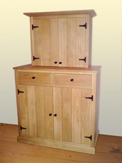 Rustic oak dresser