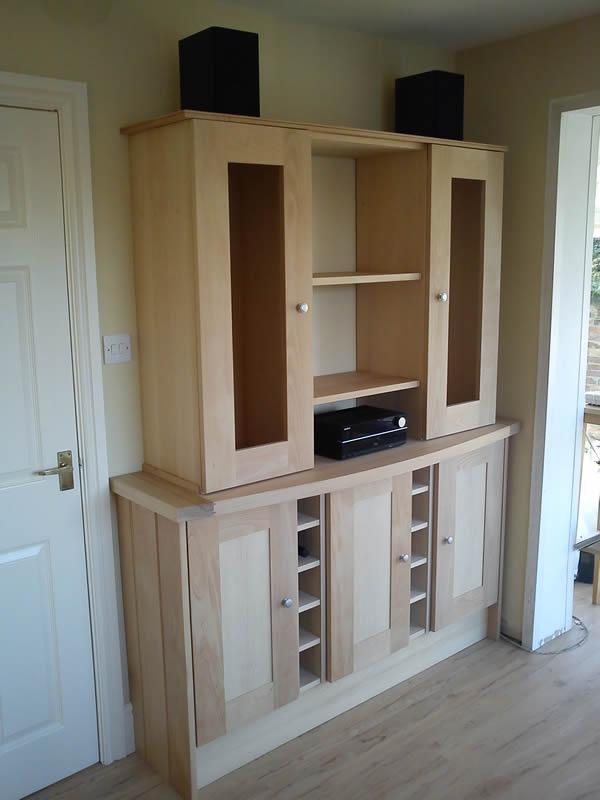 Handmade beech dresser - Worcester