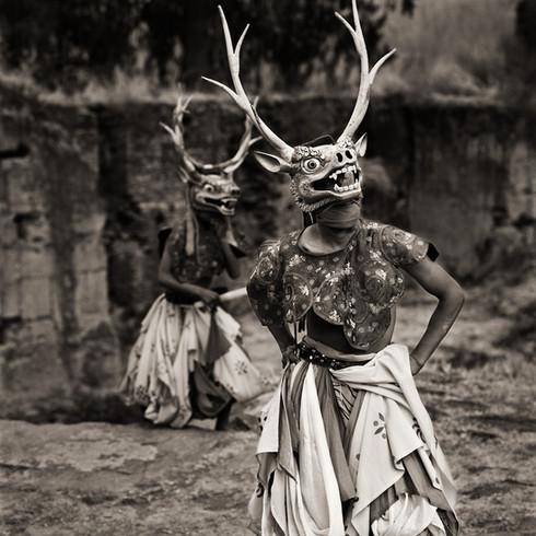 Dancers, Bhutan, 2010