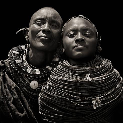 Samburu Women, Kenya, 1985