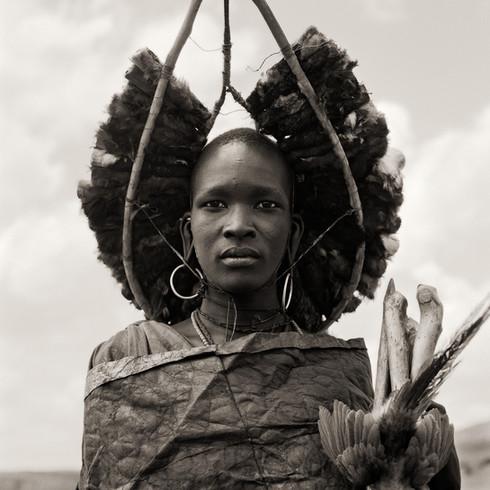 Masai Warrior Initiate, Kenya, 1985