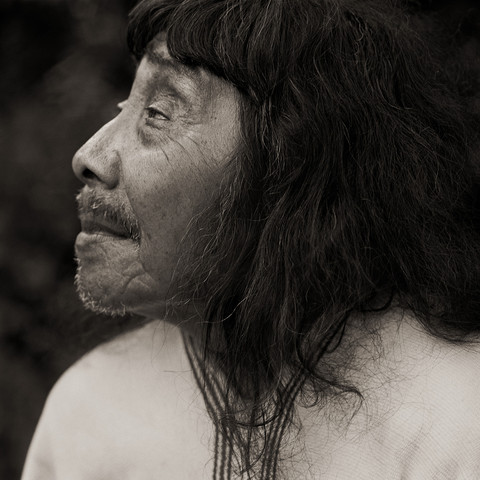 Lacandon Maya Shaman, Gathering of Elders, 1989