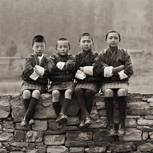 School Boys, Bhutan, 2010