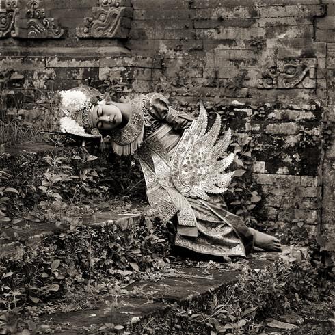 Angel in Repose, Bali, 1988