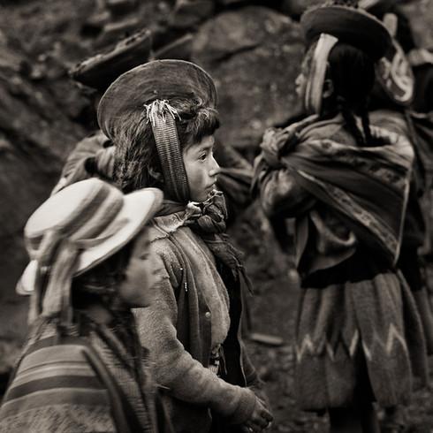 Quechuan Children, Peru, 2006