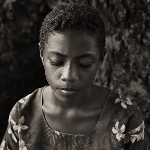 Teenage Girl, Fiji, 2008