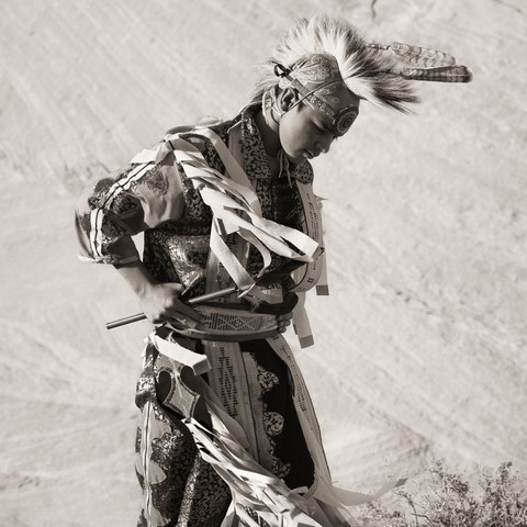 Dancer, Navajo Nation, Arizona, 2012