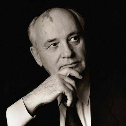Mikhail Gorbachev, 1995