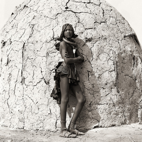 Himba Teenage Girl, Namibia, 2007