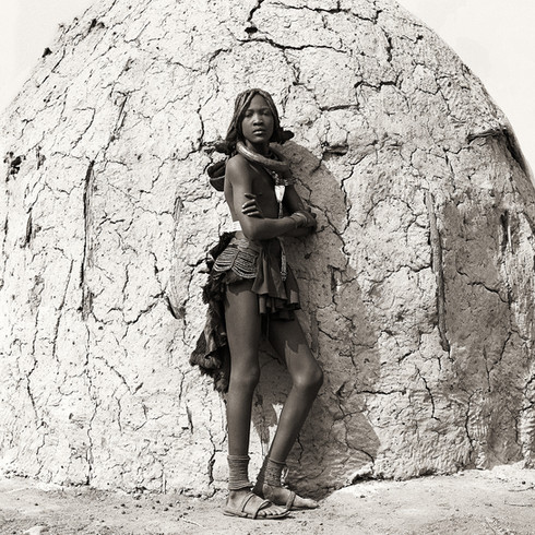 Himba Teenage Girl, Namibia, 2007
