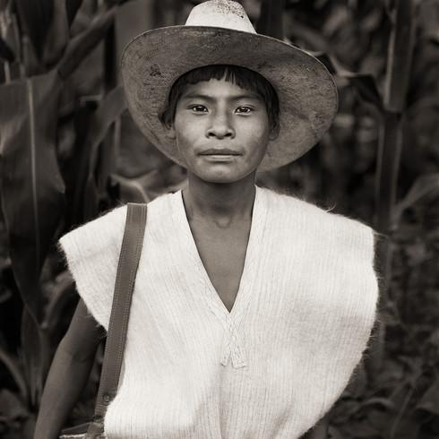 Chamula Maya Boy, Chiapas, Mexico, 1987