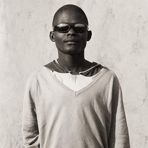 Herero Boy, Namibia, 2007, Triptych II