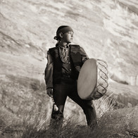 Drummer, Navajo Tribe, Arizona, 2012