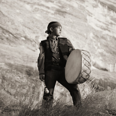 Drummer, Navajo Tribe, Arizona, 2012