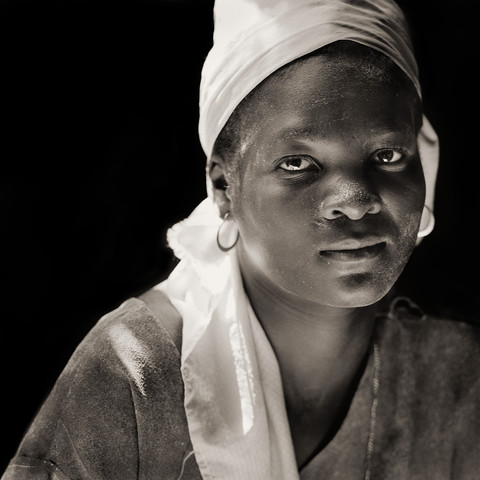 Flour Mill Worker, Haiti, 1983