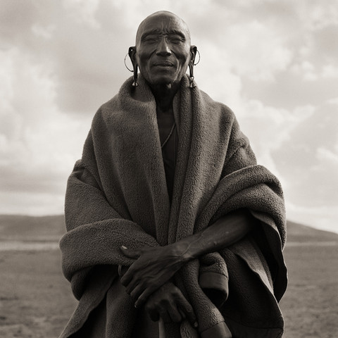 Masai Chief, Kenya, 1985