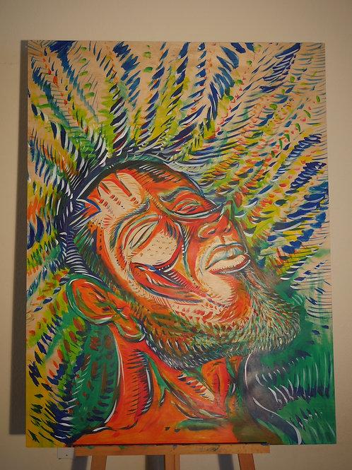 """Freedom"" (3'x4' Original Painting)"