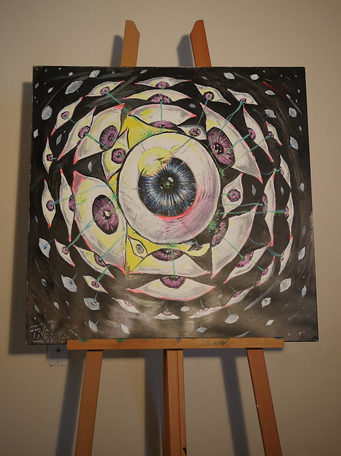 """""""The System"""" (3'x4' Original Painting)"""