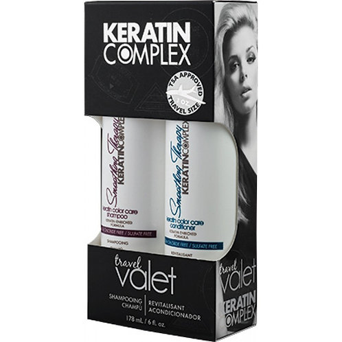 Keratin complex smoothing shampoo and conditioner