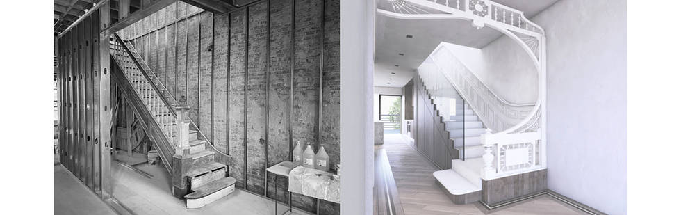 sterling revival – townhouse gut renovation – crown heights, ny completion june 2021