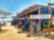 Kiteboarding school camp in Cabo de la vela beach, Colombia, kitesurf paradise in the Carribean sea