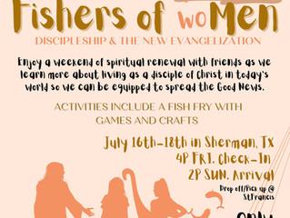 2021 Fishers of woMen Summer Retreat