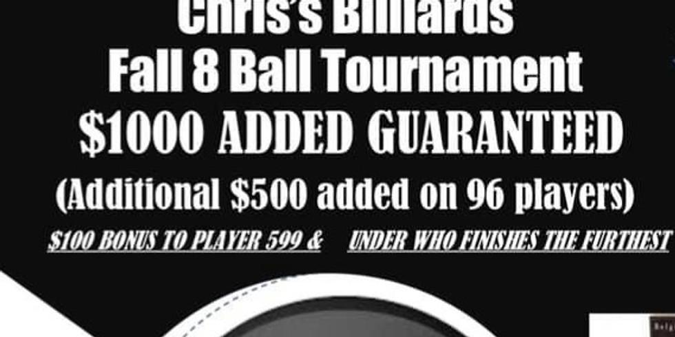 Stop #8 Open 8-Ball *Bonus Event*