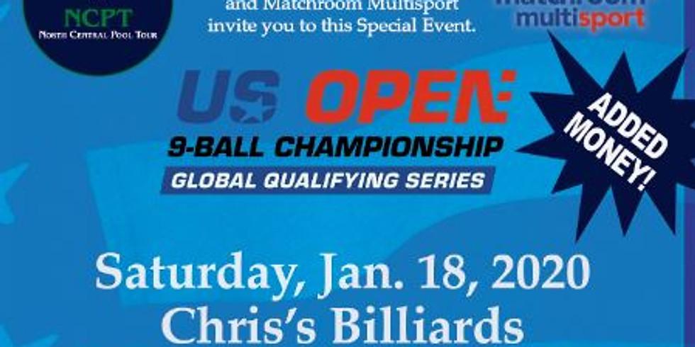 "Stop #1 NCPT ""Special Event"" U.S. Open QUALIFIER"