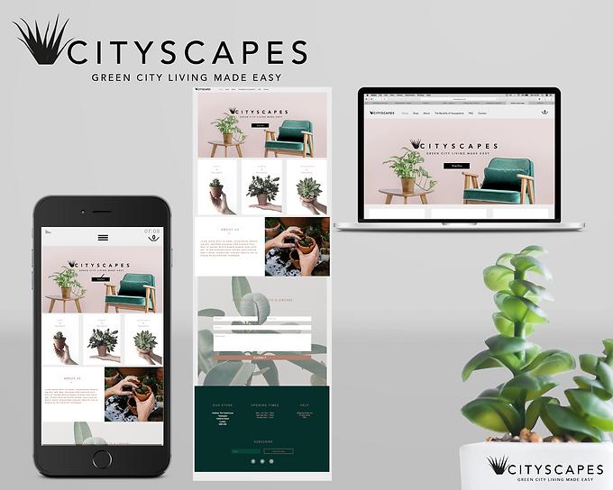 cityscapes branding mockup for bopstudio