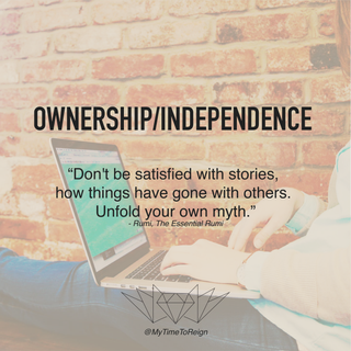 OWNERSHIP/INDEPENDENCE