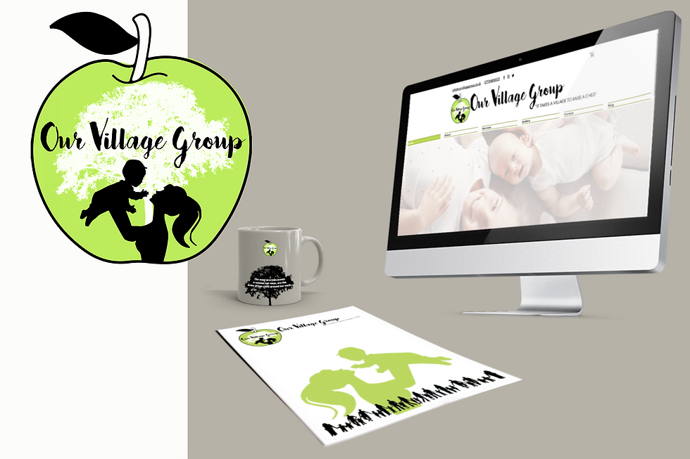 complete corporate identity bundle web design merchandise logo design newsletter mock up
