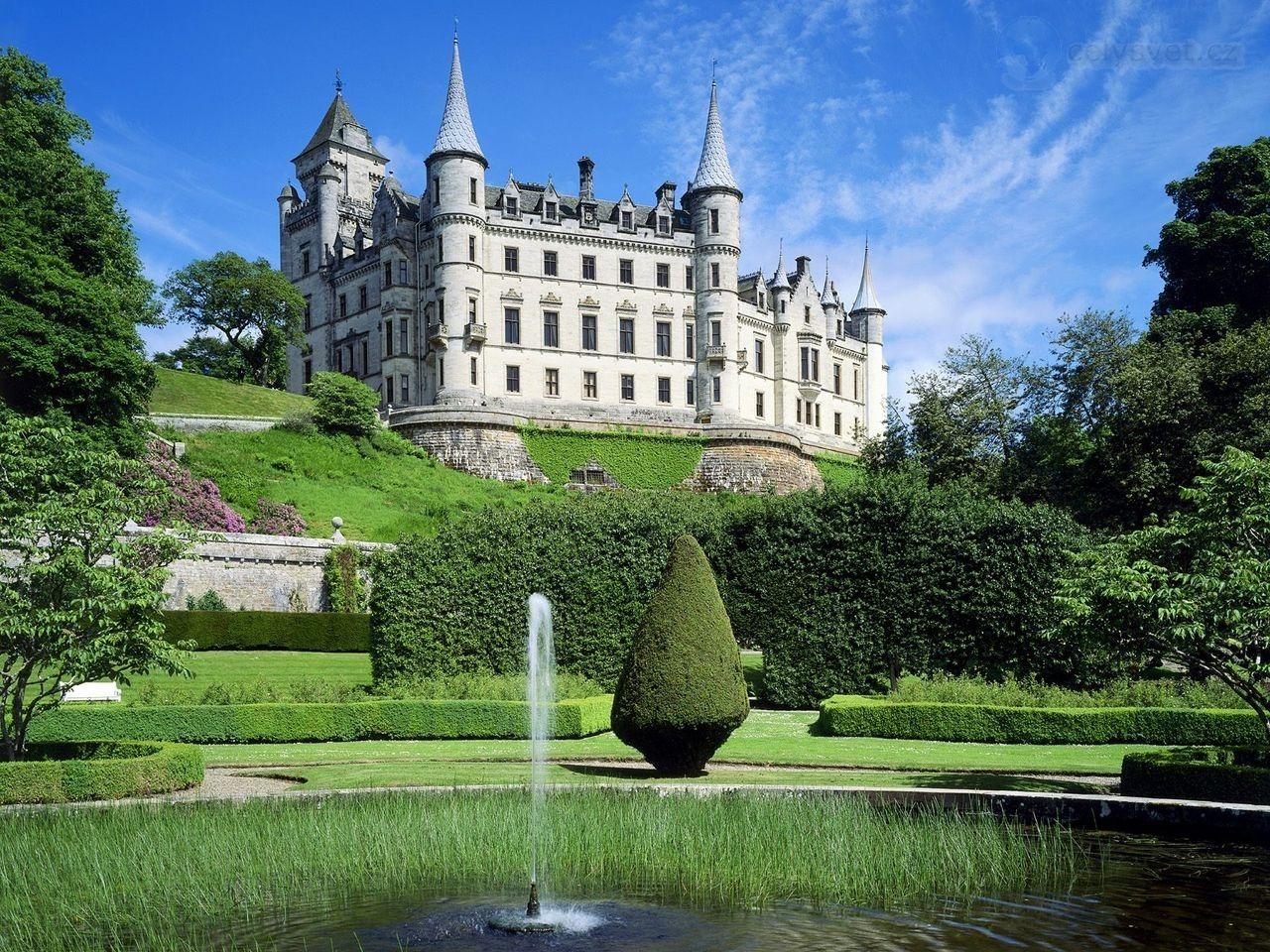 dunrobin-castle - celysvet