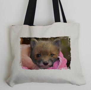 Daisy The Fox Tote Bag