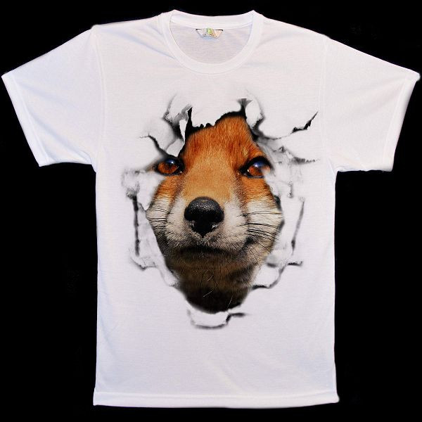 Red Fox Break Out T-Shirts