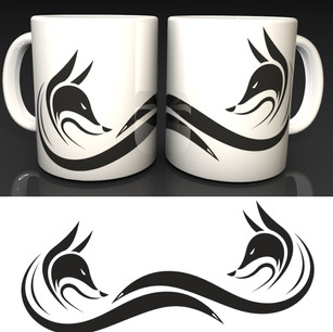 New Fox Logo Mug