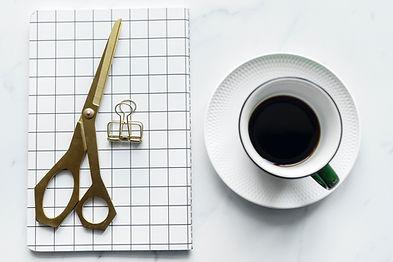 Coffee and Scissors