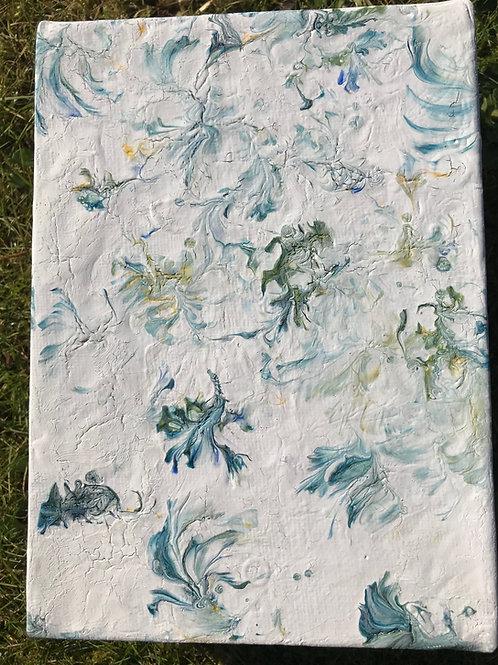 Blue flower fall 2