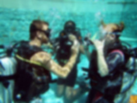 Baptême plongée BALI