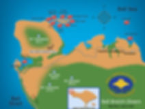 Map dive Menjanga