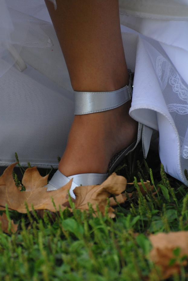 pied de mariée